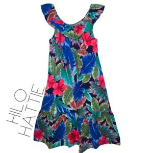 Dresses & Skirts - Hibiscus dress S